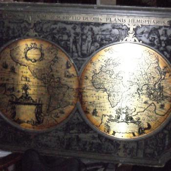 World Map - Paper