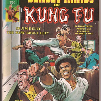 Kung fu favourites from comic collection - Comic Books