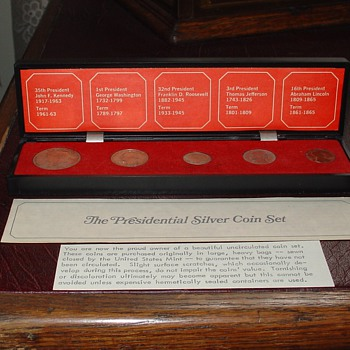 The Presidential Silver Coin Set...1964