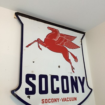 Socony sign - Petroliana