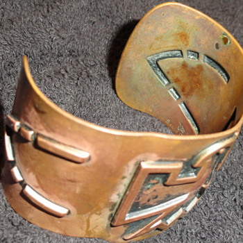 copper braclet