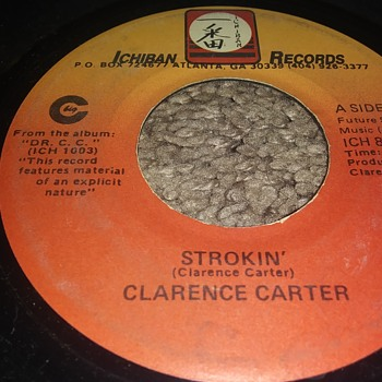 Clarence Carter...On 45 RPM Vinyl - Records
