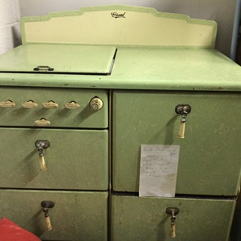 1935 antique stove.  - Kitchen