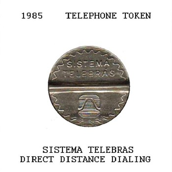 1985 - Brazilian Telephone Token