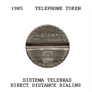 1985 - Brazilian Telephone Token - World Coins