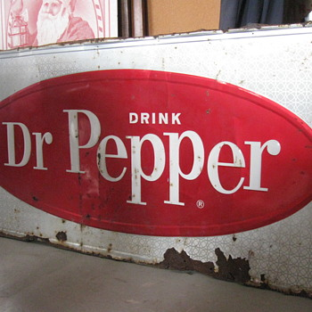 1960's Dr Pepper Sign - Signs