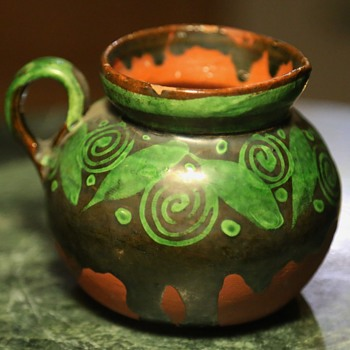 Green-glazed Pitcher - Mexican or Guatemalan?