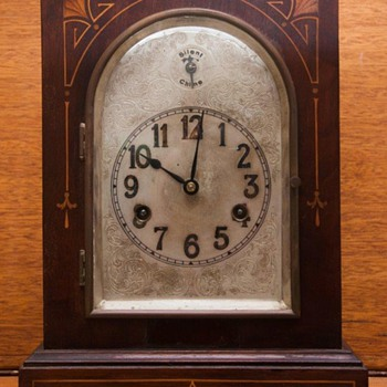 H.A.C. mantel clock