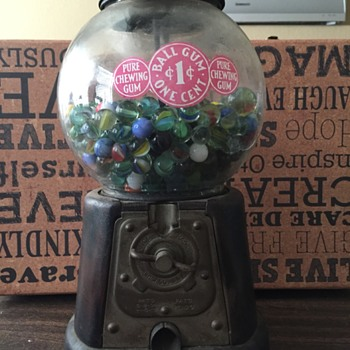 Advance Co Gumball Machine-What year was it manufactured? - Coin Operated