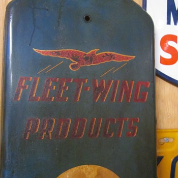 Fleet-Wing Products Thermometer...1930's