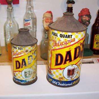 Dad's cone tops - Bottles