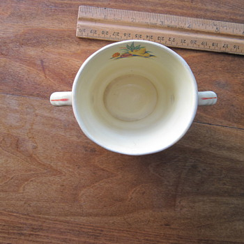 Two Handled Cup - China and Dinnerware