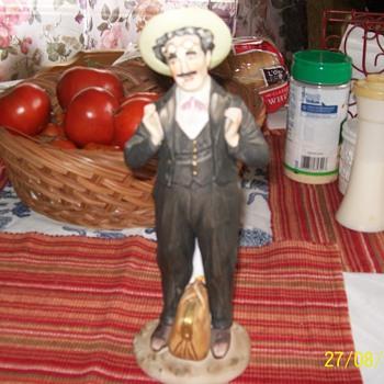 Groucho Marx Figurine - Pottery