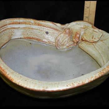 Hand made stone pottery