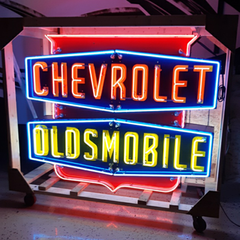 ORIGINAL DEALERSHIP SIGN - Signs
