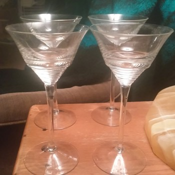 they are really old  - Glassware
