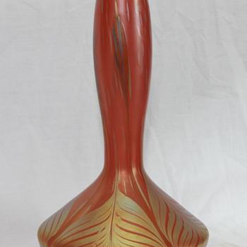 Loetz Phanomen Genre vase - Art Glass