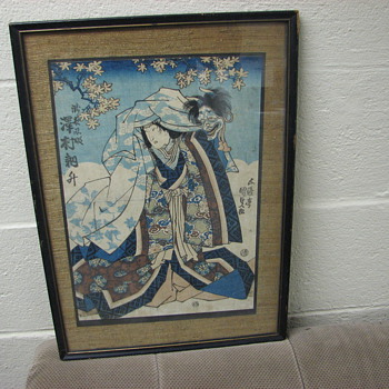 Japanese Wood Block Prints - Asian