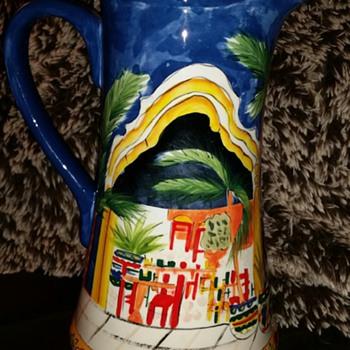 A pitcher  - Pottery