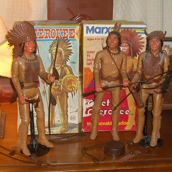 Marx Chief Cherokee From the Johnny West Series 1965-1967