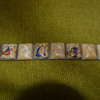 Oriental storyteller bracelet