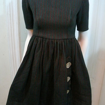 some vintage clothing...