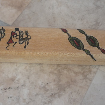 African Pen Box - Folk Art