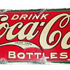 1927 Coca-Cola Tin Sign