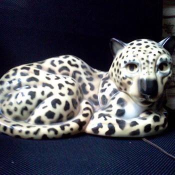 claes leopard t.v. lamp - Lamps