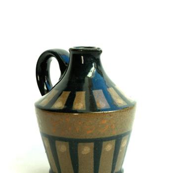 "art deco jug for alsacian cherry liquor ""KIRSCH"" by LEON ELCHINGER - Art Deco"