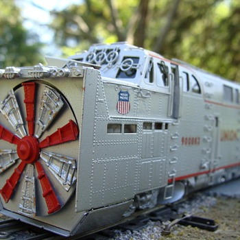 HO Scale Union Pacific Rotary Snow Plow - Model Trains