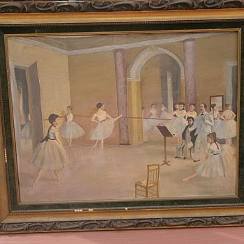 Old painting.... Degas original?