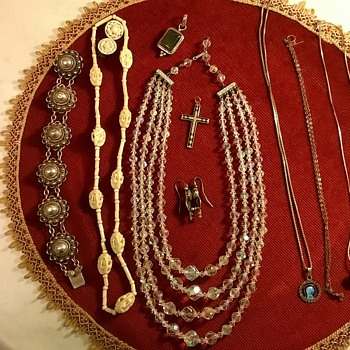 Thrift Shop Finds! All This, Plus The Pendant Watch & Earrings Posted Eariler - Fine Jewelry