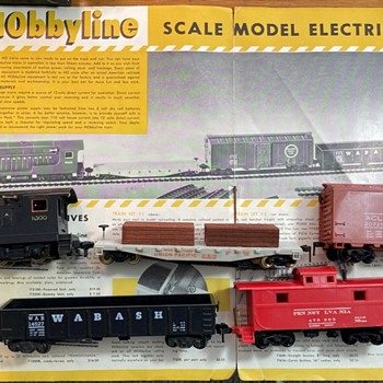 1953 HObbyline's first set #1 - Model Trains
