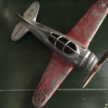 Hubley toy plane - Toys