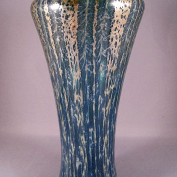 A. Douglas Nash Chintz Vase  c. 1928 - Art Glass