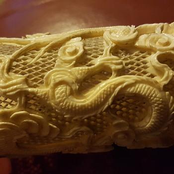 Ivory/bone carving - Asian