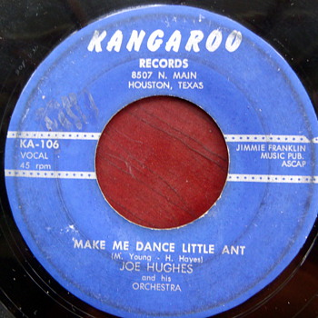 "Joe Hughes Rockabilly Bopper ""Make Me Dance Little Ant"""