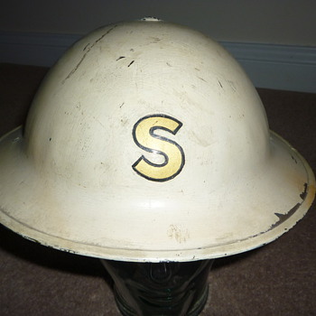"British pre WW11 ""experimental"" steel helmet"