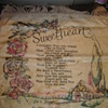Sweetheart Pillow - Civilian Conservation Corps