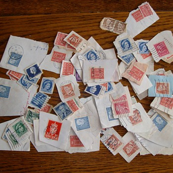 Foreign Stamps from the 1930's & 1940's - Office