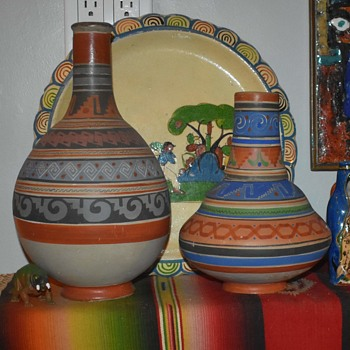 Couple of New Pieces of Aztec Opaqueware from Mexico - Pottery