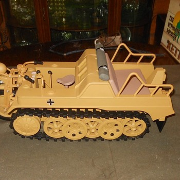 Ultimate Soldier Kettewnkrad Motorcycle Tractor 1/6th Scale For GI Joe Sized Figures - Toys