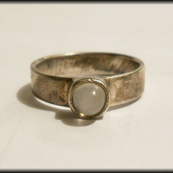 An Unknown Sterling Silver ring - Fine Jewelry