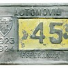 1923 Island of Cuba License Plate