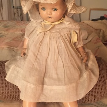 Antique MaMa Doll with Teeth? No Markings, thx. Manikin - Dolls