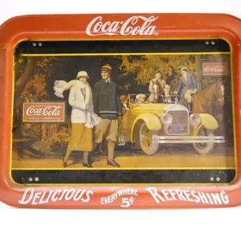 Coca-Cola tray - Coca-Cola