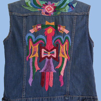Original San Francisco vintage 60s Hippie Embroidered Levis Jacket  - Mens Clothing