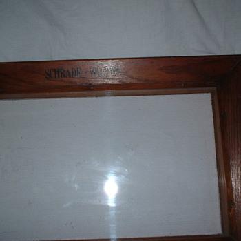 Schrade Walden Knife Display Case  - Advertising