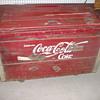 Coca-Cola Coke Chest WOODEN